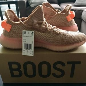 Adidas YEEZY BOOST 350 V2 Clay, Men's Size 11